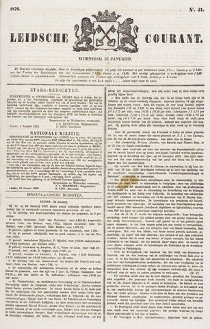 Leydse Courant 1876-01-26