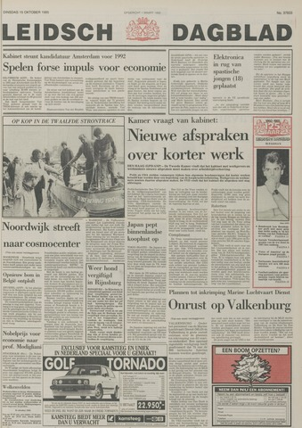 Leidsch Dagblad 1985-10-15