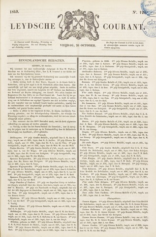Leydse Courant 1849-10-26