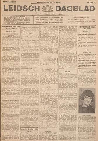 Leidsch Dagblad 1928-03-28