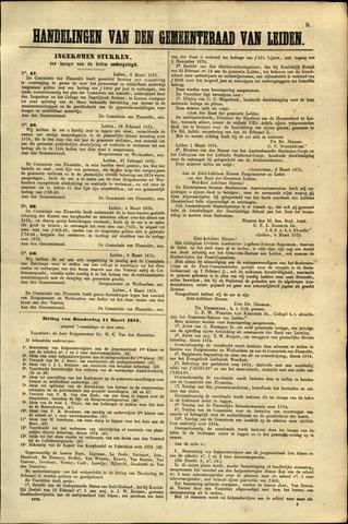 Handelingen van de Raad 1875-03-06