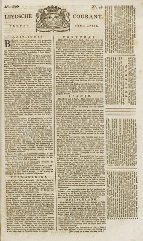 Leydse Courant 1826-04-21
