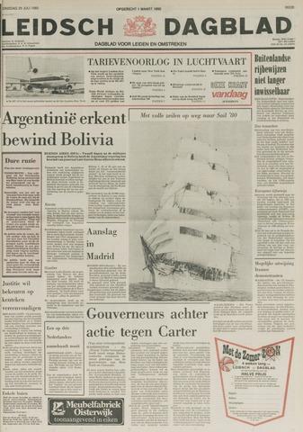 Leidsch Dagblad 1980-07-29