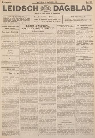 Leidsch Dagblad 1930-10-29