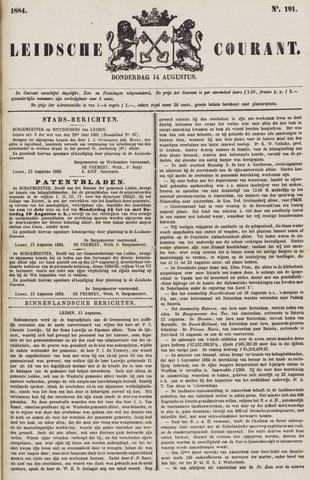 Leydse Courant 1884-08-14