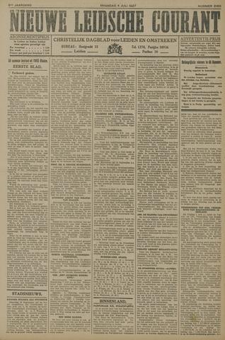 Nieuwe Leidsche Courant 1927-07-04