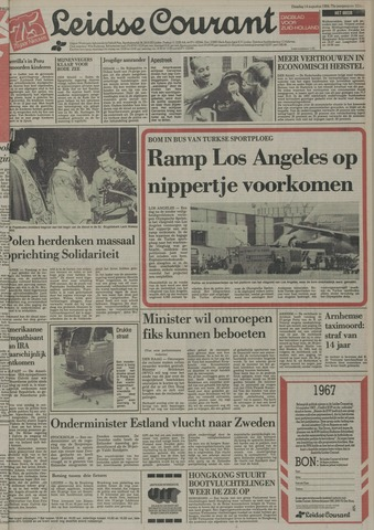 Leidse Courant 1984-08-14