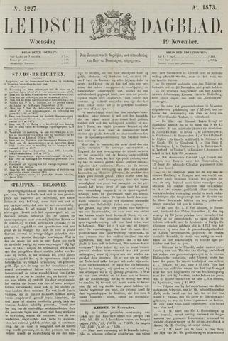 Leidsch Dagblad 1873-11-19