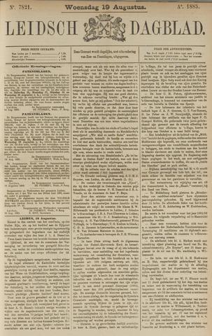 Leidsch Dagblad 1885-08-19