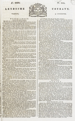 Leydse Courant 1838-08-31