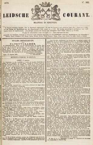 Leydse Courant 1872-08-19