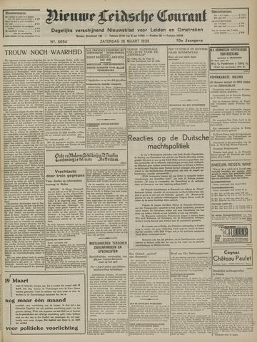 Nieuwe Leidsche Courant 1939-03-18