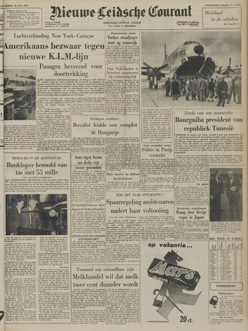 Nieuwe Leidsche Courant 1957-07-26