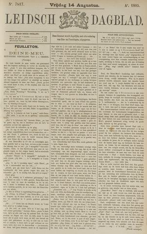 Leidsch Dagblad 1885-08-14