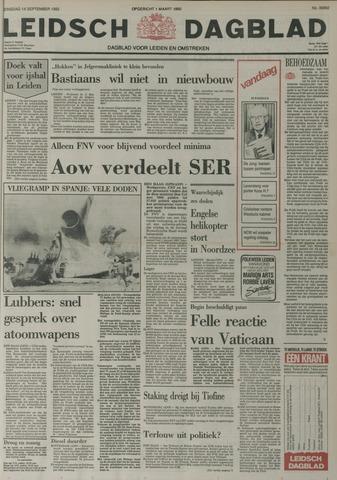 Leidsch Dagblad 1982-09-14