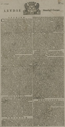Leydse Courant 1740-02-01