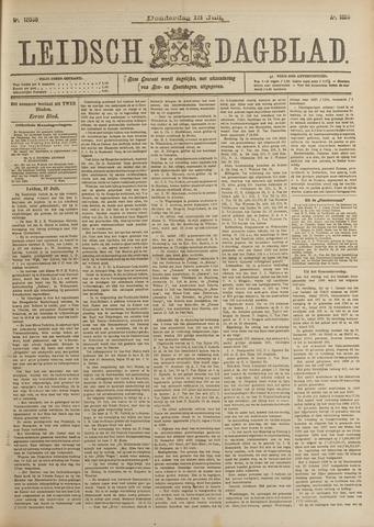 Leidsch Dagblad 1899-07-13