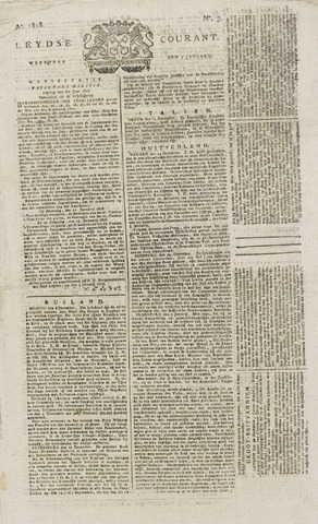 Leydse Courant 1818-01-07