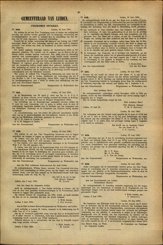 Handelingen van de Raad 1881-06-16