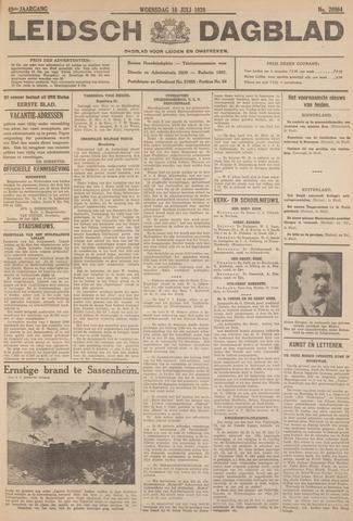 Leidsch Dagblad 1928-07-18