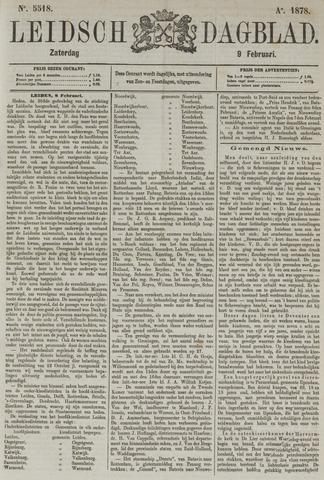 Leidsch Dagblad 1878-02-09