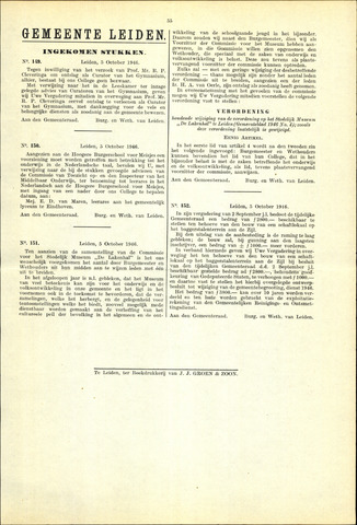 Handelingen van de Raad 1946-10-05