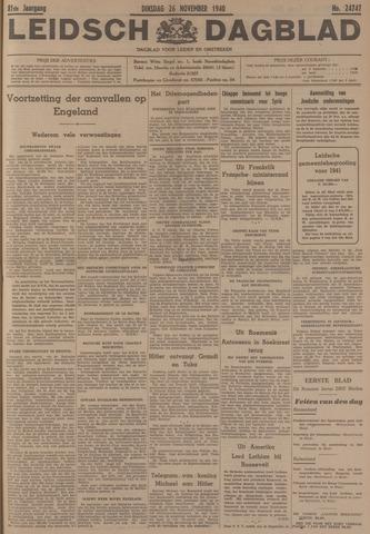 Leidsch Dagblad 1940-11-26
