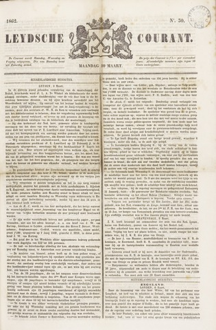 Leydse Courant 1862-03-10