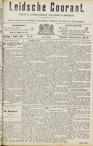 Leydse Courant 1890-04-01