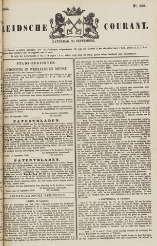Leydse Courant 1884-09-20