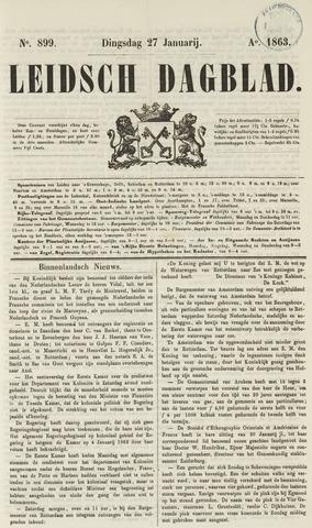 Leidsch Dagblad 1863-01-27