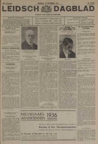 Leidsch Dagblad 1935-12-24