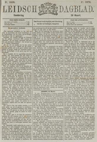 Leidsch Dagblad 1878-03-28