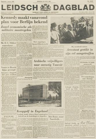 Leidsch Dagblad 1961-07-25