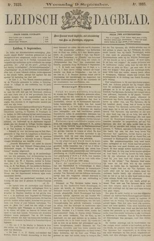 Leidsch Dagblad 1885-09-09