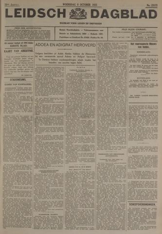 Leidsch Dagblad 1935-10-09