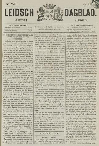 Leidsch Dagblad 1868-01-09