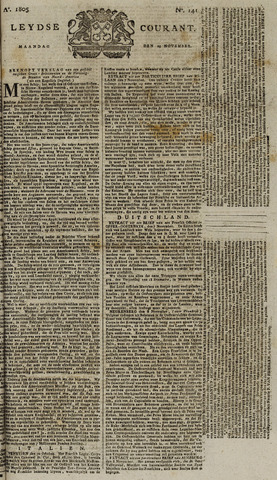 Leydse Courant 1805-11-25