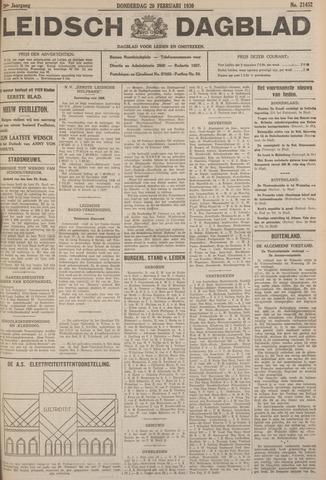 Leidsch Dagblad 1930-02-20