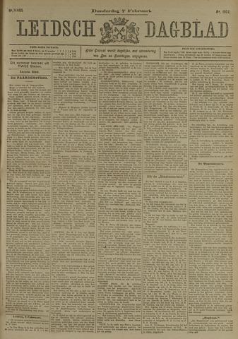 Leidsch Dagblad 1907-02-07
