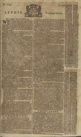 Leydse Courant 1754-08-21