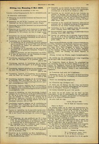 Handelingen van de Raad 1920-05-03