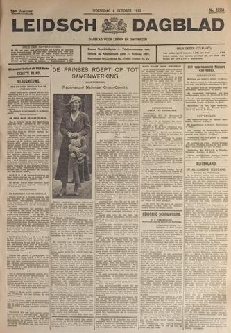 Leidsch Dagblad 1933-10-04