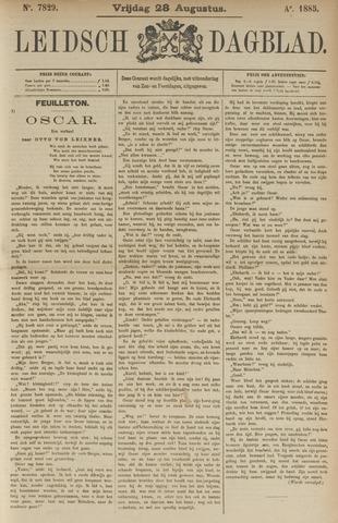 Leidsch Dagblad 1885-08-28