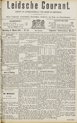 Leydse Courant 1890-03-31