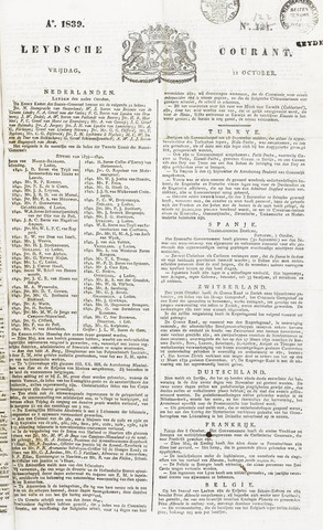 Leydse Courant 1839-10-11