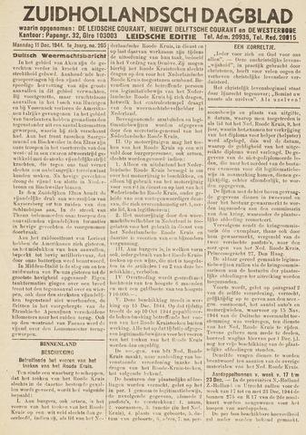 Zuidhollandsch Dagblad 1944-12-11