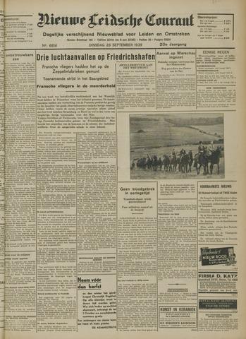 Nieuwe Leidsche Courant 1939-09-26