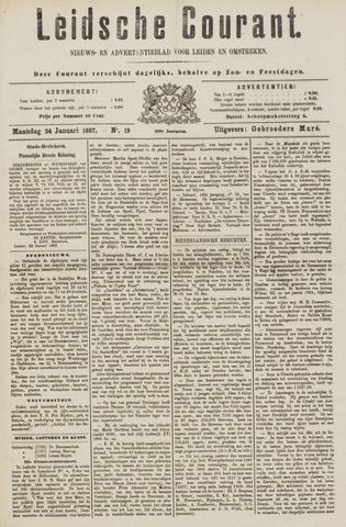 Leydse Courant 1887-01-24