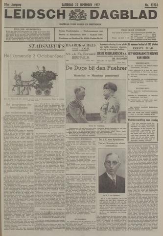 Leidsch Dagblad 1937-09-25